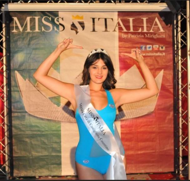 Antonella Caruso miss città di castiglione