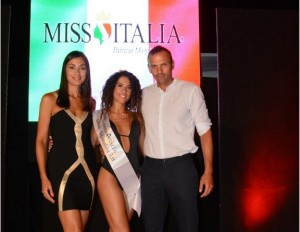 Denise Caligiuri è Miss Monalisa 3.0 Beach Club di Cirella