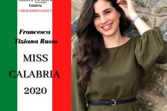 francesca russo Miss Calabria 2020